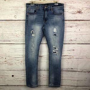 Cotton On Nineteen 91 Skinny Straight Jean sz 32